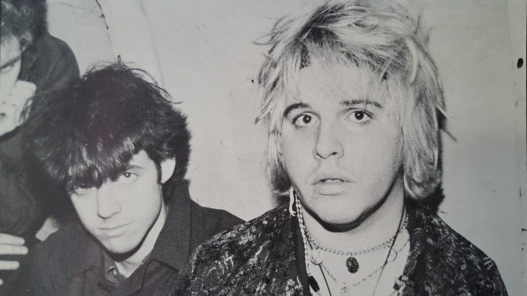 Jeffrey Lee Pierce and friends
